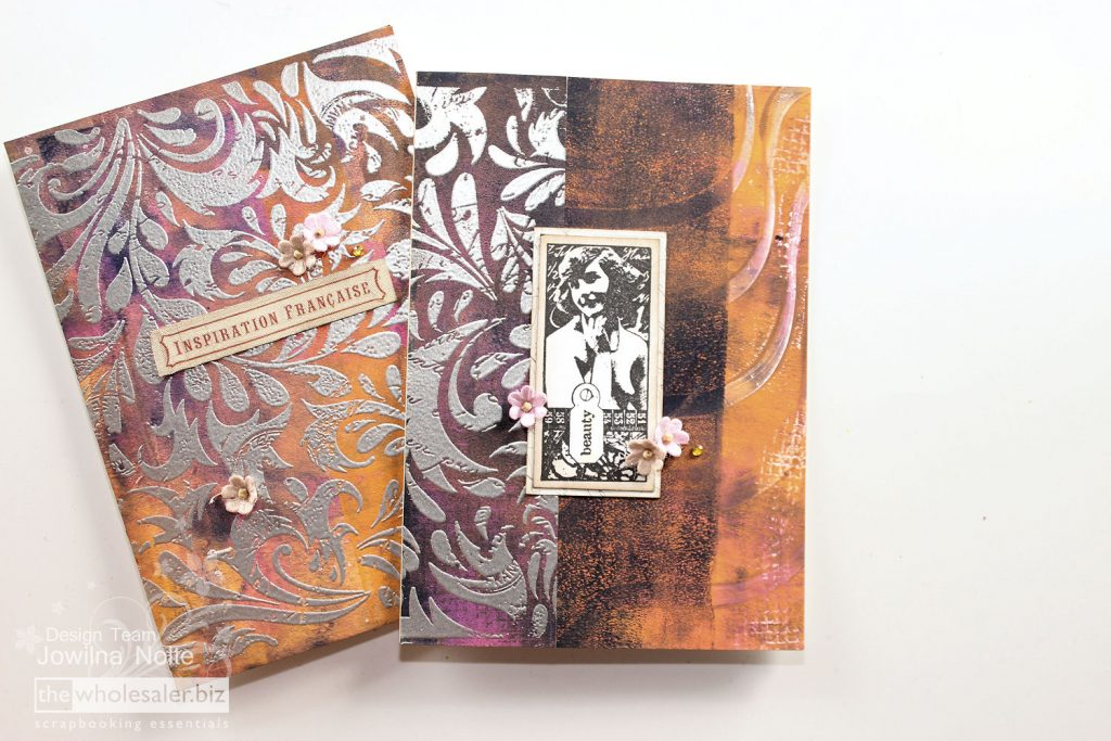 embossed paper cards