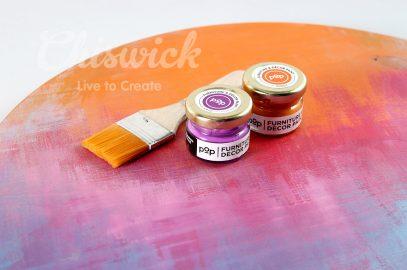 Paint techniques using POP Paint.