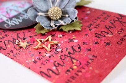 Sangria Inspired Christmas Tag.