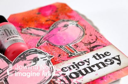 See How to Use Inkers for a Mixed Media Tag.