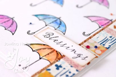 Make two cards using one stamp